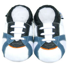 Littleoneshoes(Jinwood) Soft Sole Leather Baby kid shoes TrainerWhite 24-30M