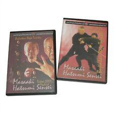 Secrets Ninja Ninjutsu 2 Dvd Set Masaaki Hatsumi ninjitsu samurai Japan