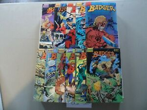 "1985-1988 Badger (First Comics) COMPLETE SET of 33 ""Comic Books"" (5-38)"