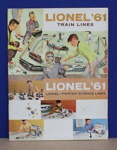 Lionel 1961 Consumer Train Catalog Mint NOS Original O HO O27