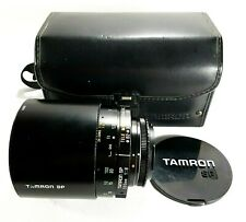 Tamron SP 500mm Mirror Relfex Lens with Case Hood M42 Canon EOS Fit UK Fast Post