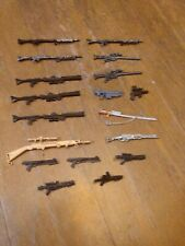Lot Of 18 1:12 Action Figures Guns And Blasters! Marvel Legends, Black Series