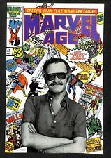 Marvel Age #41 VF/NM 9.0 Stan Lee Photo Cover!