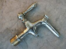 "TRUE VINTAGE IN BRASS CHROMED ELEGANT TAP BARREL SPIGOT 1/2"" STANDART"