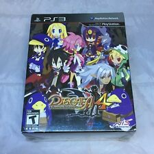 Disgaea 4 A Promise Unforgotten PS3 Limited Edition Collectors Brand new