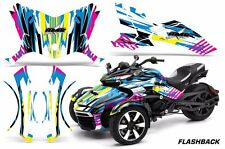AMR Racing CanAm Spyder F3-S Roadster Graphic Kit Street Bike Decal Wrap FLSHBK