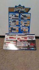 2016 Lake County Captains & 2014 Mahoning​ Valley Scrappers magnet schedules