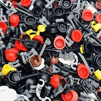 Lego Spares 50 X Random Accessories For Minifigure Weapons Hats Hair Swords Etc