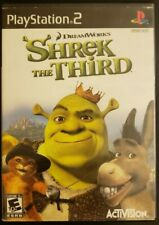 Shrek the Third (Sony PlayStation 2, 2007) Complete With Manual Ps2