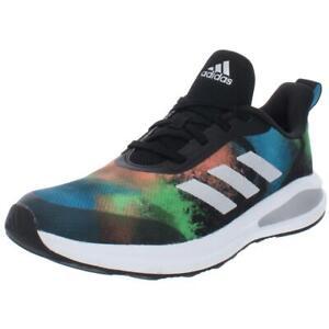 Adidas Boys FortaRun K Black Running Shoes Shoes 6 Medium (D) Big Kid BHFO 4442