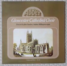 GLOUCESTER CATHEDRAL CHOIR - In Quires And Places... No. 22 - Sanders - Abbey LP