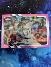 2021 Topps Chrome Chris Archer Pink Refractor Pittsburgh Pirates #188 PWE