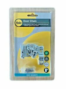 Yale Chrome High Security Door Chain For Wooden Doors V-WS6-CH