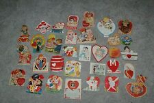 32 different 1930's-40's Usa Valentines Die Cuts Figurals Pop Out