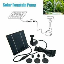 e461d4b02b3 190L H Solar Fountain Submersible Water Feature Pump Outdoor Garden Pool  Pond UK