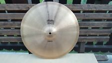 "Paiste 2002 17"" Crash Black Label vintage Cymbal very rare"