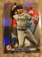2019 Bowmans Best Refractor #64 Gleyber Torres - New York Yankees