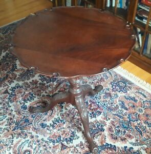 A TRUE HIGH QUALITY Georgian Antique Tilt Top 18th Century Table Made in England