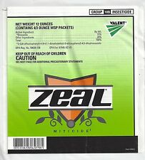 Zeal Miticide 12oz (4 x 3oz WSP Packets)