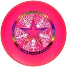 NEW DISCRAFT ULTRA-STAR 175g ULTIMATE FRISBEE DISC - PINK
