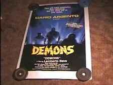 DEMONS ROLLED 27X41 ORIG MOVIE POSTER DARIO ARGENTO