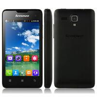 "4.0"" Screen Android 2.3 Dual Sim Quad Core WIFI 3G WCDMA Cellphone Lenovo A396"