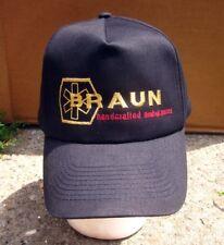 BRAUN Handcrafted Ambulances logo baseball cap Van Wert logo hat Ohio snapback