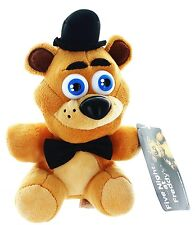"Five Nights at Freddy's 6"" Brown Fazbear Plush-FNF 6"" Fazbear Plush-Brand New!"