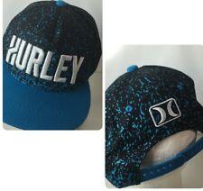 HURLEY Surf Apparel Hat Cap Big Spellout Speckled Logo Snapback Beach ceee5c8d38c