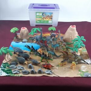 Animal Planet Big Tub Dinosaurs Toys R Us Set 38 Psc.