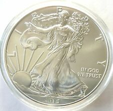 2015 American Silver Eagle .999 1 Oz $1 Silver Bullion Mint Coin BU