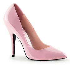 Seduce Pink High Heel Court Shoes - Sissy Maids