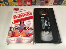 Lisa Picard Is Famous Mockumentary Comedy VHS 2000 Laura Kirk Griffin Dunne