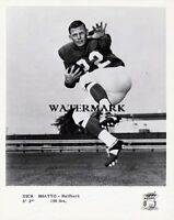 1960's CFL HOF Dick Shatto Toronto Argonauts Black & White 8 X 10 Photo Picture