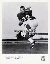 1960's Cfl Hof Dick Shatto Toronto Argonauts Black & White 8 X 10 Photo Pic
