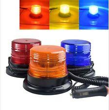 Magnetic Roof Warning Police Lights 3 color strobe 12V-80V Yellow Red Blue
