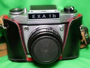 EXA 1b - Spiegelreflex Kamera (619895) mit Domiplan 2,8/50 automatic lens