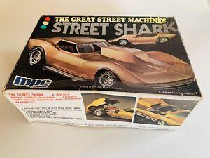 Vintage Model, The Great Street Machines, Street Shark, MPC, Open Box