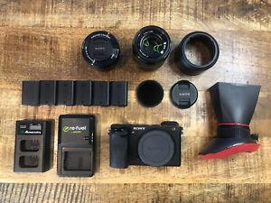 Sony Alpha A6300 24.2MP Mirrorless Digital Camera - 2 Lenses Plus Extras!