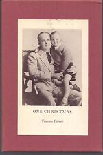 1st/2nd Printing ONE CHRISTMAS by TRUMAN CAPOTE - HARDCOVER W/ SLIPCASE