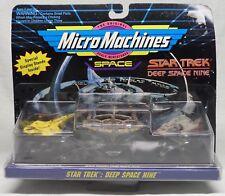 """ Micro Machines"" Scale Miniatures STAR TREK Deep Space Nine Space Ships"