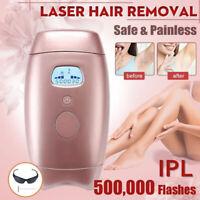 Laser Hair Removal Epilator Permanent 600000 IPL Body Electric Machine Face L^