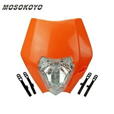 Motorcycle Front Light Headlight Fairing For Enduro Motocross Alien SX SXF KTM