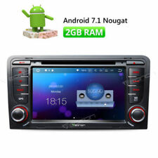 Android In-Dash Monitor Vehicle DVD Players for Audi