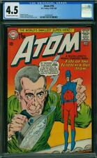 Atom #16 CGC 4.5 -- 1964 -- Kane Anderson art. Flat Ironed Atom #2004939002