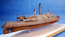C.S.S. Tennessee Civil Era Confederate Ironclad Navy Ship Model Kit