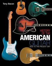 Tony Bacon History Of The American Guitar Learn Gift Present Music Book