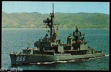 USS Cono dd-866 Tarjeta Postal NOS MARINA BUQUE DE GUERRA Gearing-Class