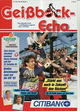 BL 91/92 1. FC Köln - FC Hansa Rostock+FC Schalke 04