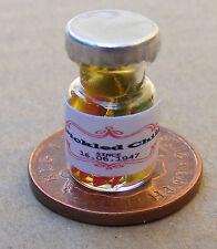 Échelle 1:12 bocal de vinaigre Chillies maison de poupées miniature cuisine épices Accessoire